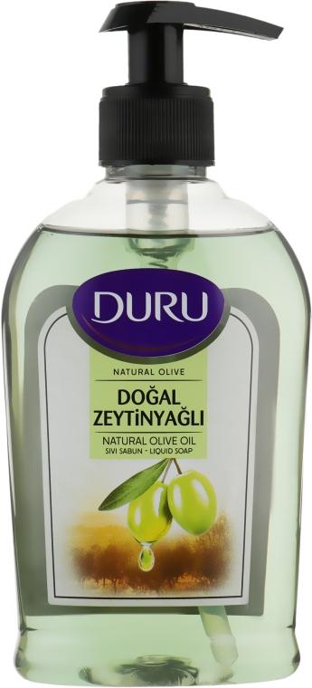 Жидкое мыло с экстрактом оливкового масла - Duru Natural Olive Liquid Soap