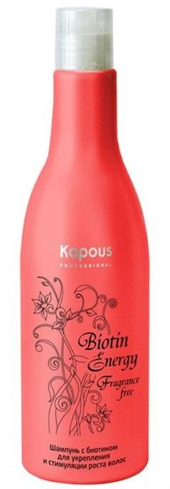 Шампунь с биотином для укрепления и стимуляции роста волос - Kapous Professional Biotin Energy