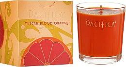 Духи, Парфюмерия, косметика Соевая свеча - Pacifica Tuscan Blood Orange Soy Candle