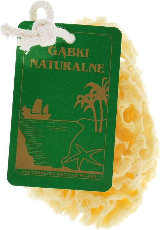 Натуральная губка, средняя желтая - Organique
