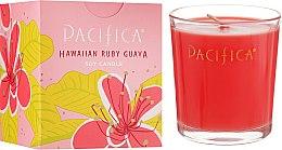 Духи, Парфюмерия, косметика Соевая свеча - Pacifica Hawaiian Ruby Guava Soy Candle