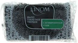 Духи, Парфюмерия, косметика Мыло твердое туалетное с активированным углем - Linom