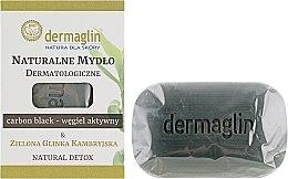 Духи, Парфюмерия, косметика Дерматологическое натуральное мыло - Dermaglin Natural Detox