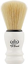 Духи, Парфюмерия, косметика Помазок для бритья, S10108, белый - Omega