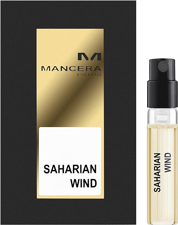Mancera Saharian Wind - Парфюмированная вода (пробник)