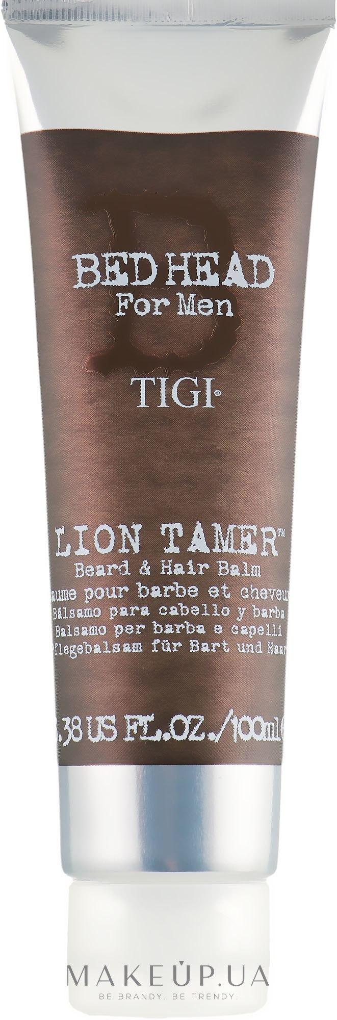 Бальзам для бороды и волос - Tigi Bed Head For Men Lion Tamer Beard & Hair Balm — фото 100ml