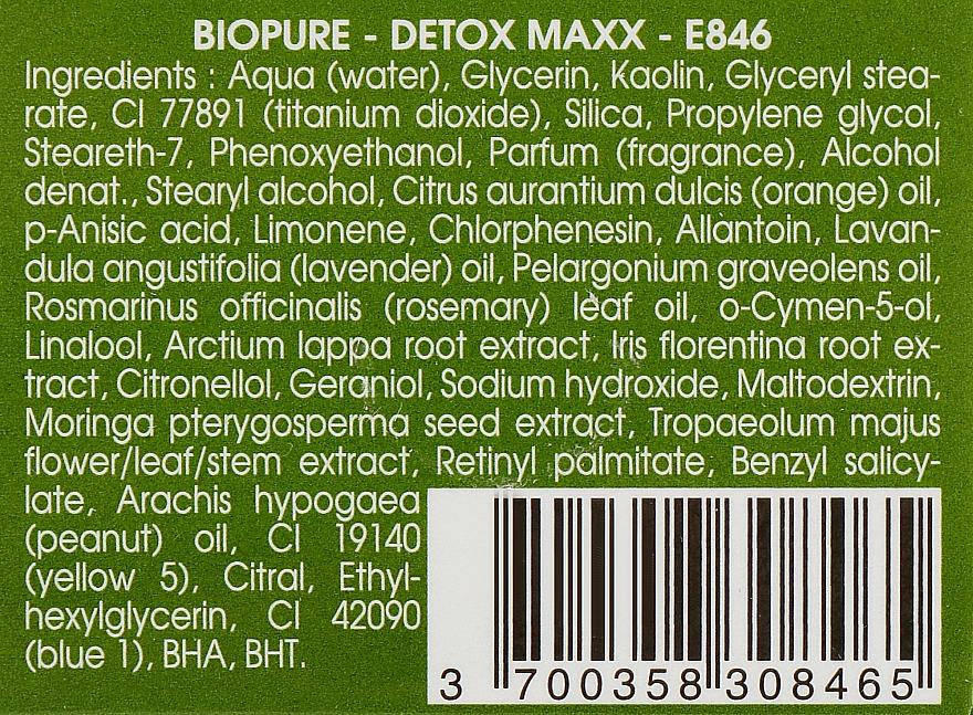 Очищуюча детоксицируюча маска - Ericson Laboratoire Bio-Pure Detox Maxx Anti-Pollution Mask — фото N3