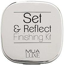 Духи, Парфюмерия, косметика Набор для макияжа - MUA Luxe Set & Reflect Finishing Kit White Gold