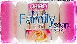 "Духи, Парфюмерия, косметика Туалетное мыло ""Роза"" - Dalan Family Soup"