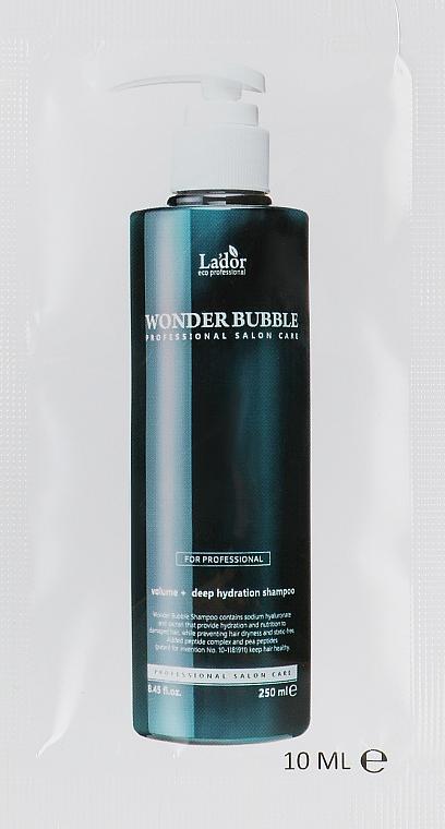 Увлажняющий шампунь для волос - La'dor Moisture Balancing Shampoo (пробник)