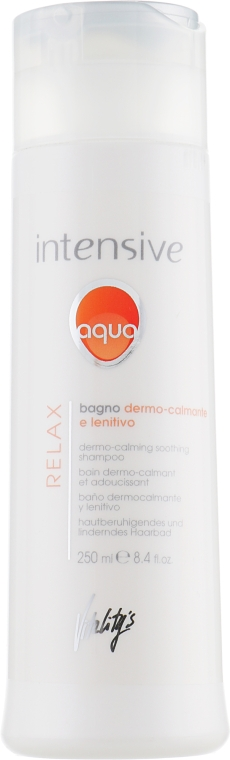 Мягкий успокаивающий шампунь - Vitality's Intensive Aqua Relax Dermo-Calming Shampoo