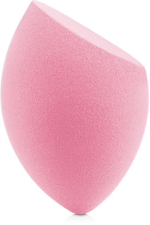Спонж для макияжа каплеобразная форма со срезом, розовый - Miss Claire