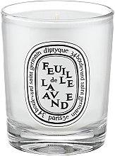 Духи, Парфюмерия, косметика Ароматическая свеча - Diptyque Feuille de Lavande Candle