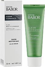 Духи, Парфюмерия, косметика Крем-маска для умывания с глиной - Babor Doctor Babor Clean Formance Clay Multi-Cleanser (тестер)