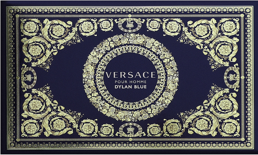 Versace Dylan Blue Pour Homme - Набор (bag + edt/100ml + edt/10ml)