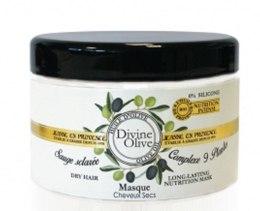 Духи, Парфюмерия, косметика Увлажняющая маска для сухих волос - Jeanne en Provence Divine Olive Nourishing Mask