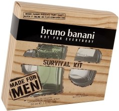 Духи, Парфюмерия, косметика Bruno Banani Made For Men - Набор (edt/30ml + брелок)
