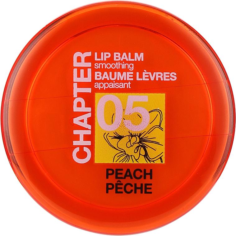 Бальзам для губ с ароматом персика и орхидеи - Mades Cosmetics Chapter 05 Peach Lip Balm