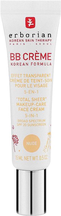 ВВ-крем - Erborian Nude BB Cream 5in1