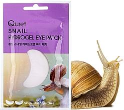 Духи, Парфюмерия, косметика Патчи под глаза - Quret Snail Hydrogel Eye Patch