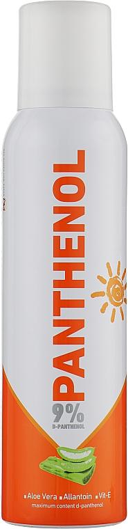 """Крем-пена """"Пантенол 9%"""", с алоэ вера и витамином Е - Pinna"""