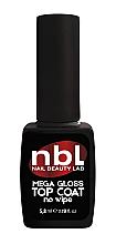 """Духи, Парфюмерия, косметика Топ для гель-лака """"Мега-блеск"""" без липкого слоя - Jerden NBL Nail Beauty Lab Mega-Gloss Top Coat No Wipe"""