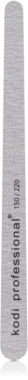 Пилка для педикюра - Kodi Professional (Grey, 150/220)