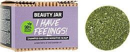 Духи, Парфюмерия, косметика Твердый шампунь для чувствительной кожи головы с маслом можжевельника и лавандой - Beauty Jar I Have Feelings