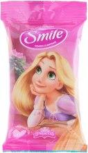 """Духи, Парфюмерия, косметика Влажные салфетки """"Принцессы"""" 15шт, Рапунцель - Smile Ukraine Princess"""