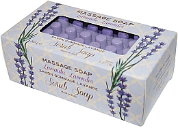 "Духи, Парфюмерия, косметика Мыло-скраб для массажа ""Лаванда"" - Gori 1919 Massage Scrub Soap Lavender"