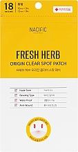 Духи, Парфюмерия, косметика Патчи от воспалений и акне - Nacific Fresh Herb Origin Clear Spot Patch