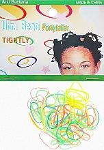 Духи, Парфюмерия, косметика Резинки силиконовые для африканских косичек, салатово-желтые - Элита