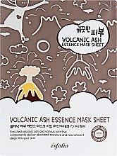 Духи, Парфюмерия, косметика Тканевая маска c вулканическим пеплом - Esfolio Pure Skin Volcanic Ash Essence Mask Sheet