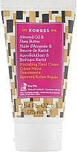 Духи, Парфюмерия, косметика Питательный крем для рук с миндальным маслом и маслом ши - Korres Nourishing Hand Cream