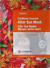 Духи, Парфюмерия, косметика Маска для лица после загара с кокосом - Leaders 7 Wonders Caribean Coconut After Sun Mask
