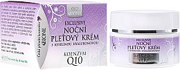 Духи, Парфюмерия, косметика Ночной крем для лица - Bione Cosmetics Exclusive Organic Night Facial Cream With Q10