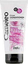 Духи, Парфюмерия, косметика Інтенсивно відновлювальний кондиціонер із рожевим відтінком - Delia Cosmetics Cameleo Pink Effect