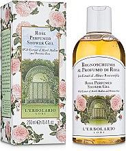"""Духи, Парфюмерия, косметика Пена для ванны-гель для душа """"Роза"""" - L'Erbolario Bagnoschiuma al Profumo di Rosa"""