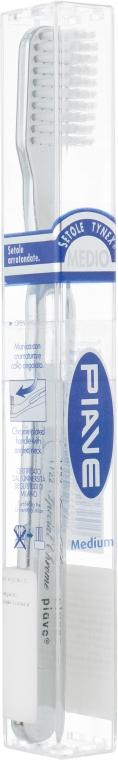Зубная щетка Special Chrome, средней жесткости - Piave Medium Toothbrush