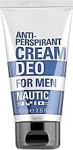 Духи, Парфюмерия, косметика Антиперспирант део-крем - Mades Cosmetics Nautic Deo Cream For Men