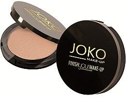 Духи, Парфюмерия, косметика Компактная пудра - Joko Finish Your Make Up Compact Powder