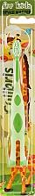 Духи, Парфюмерия, косметика Детская зубная щетка, 0911, зелено-салатовая - Colibris Soft