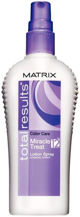 Спрей-лосьон для окрашенных волос - Matrix Total Results Color Care Miracle Treat 12 Lotion Spray