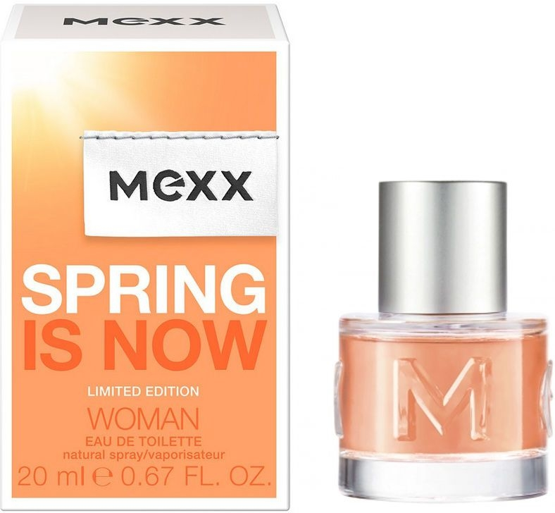 Mexx Spring is Now Woman - Туалетна вода — фото N1