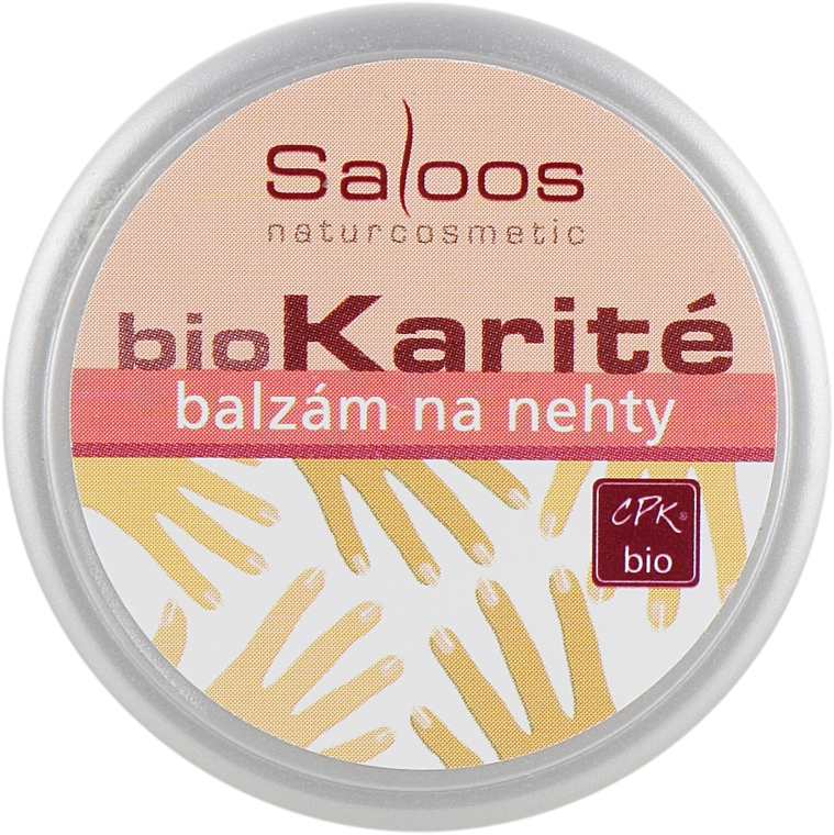 Био-бальзам для ногтей - Saloos Bio Karite