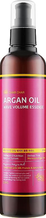 Эссенция для волос с аргановым маслом - Char Char Argan Oil Wave Volume Essense