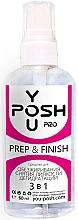 Духи, Парфюмерия, косметика Средство для обезжиривания, снятия липкости и дегидратации 3в1- YouPOSH Prep & Finish