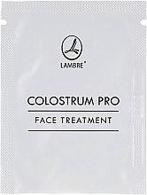 Духи, Парфюмерия, косметика Регенерирующий крем для лица с молозивом - Lambre Colostrum Pro Face Treatment (пробник)