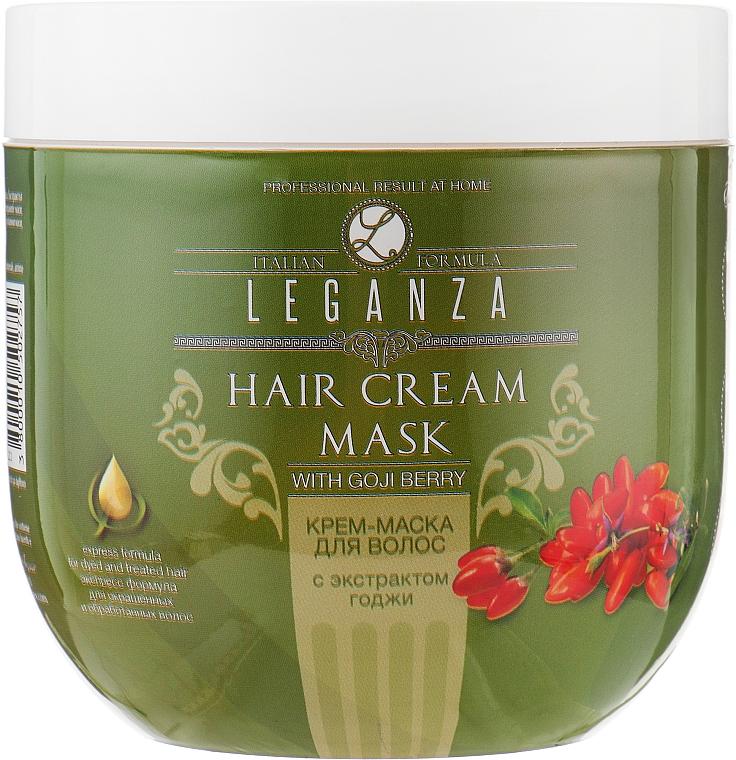Крем-маска для волос с экстрактом годжи - Leganza Cream Hair Mask With Extract Of Goji Berry (без дозатора)