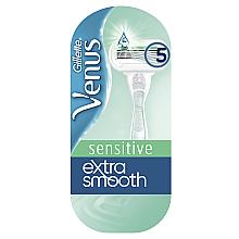 Духи, Парфюмерия, косметика Бритва с 1 сменной кассетой - Gillette Venus Extra Smooth Sensitive